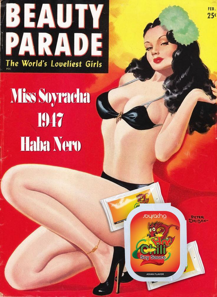 Miss Soyracha 1947 Haba Nero