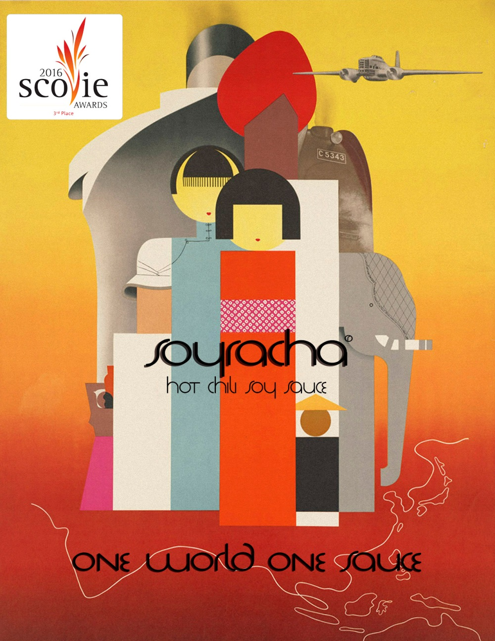 Soyracha Ad 3rd Place 2016 Scovie Awards