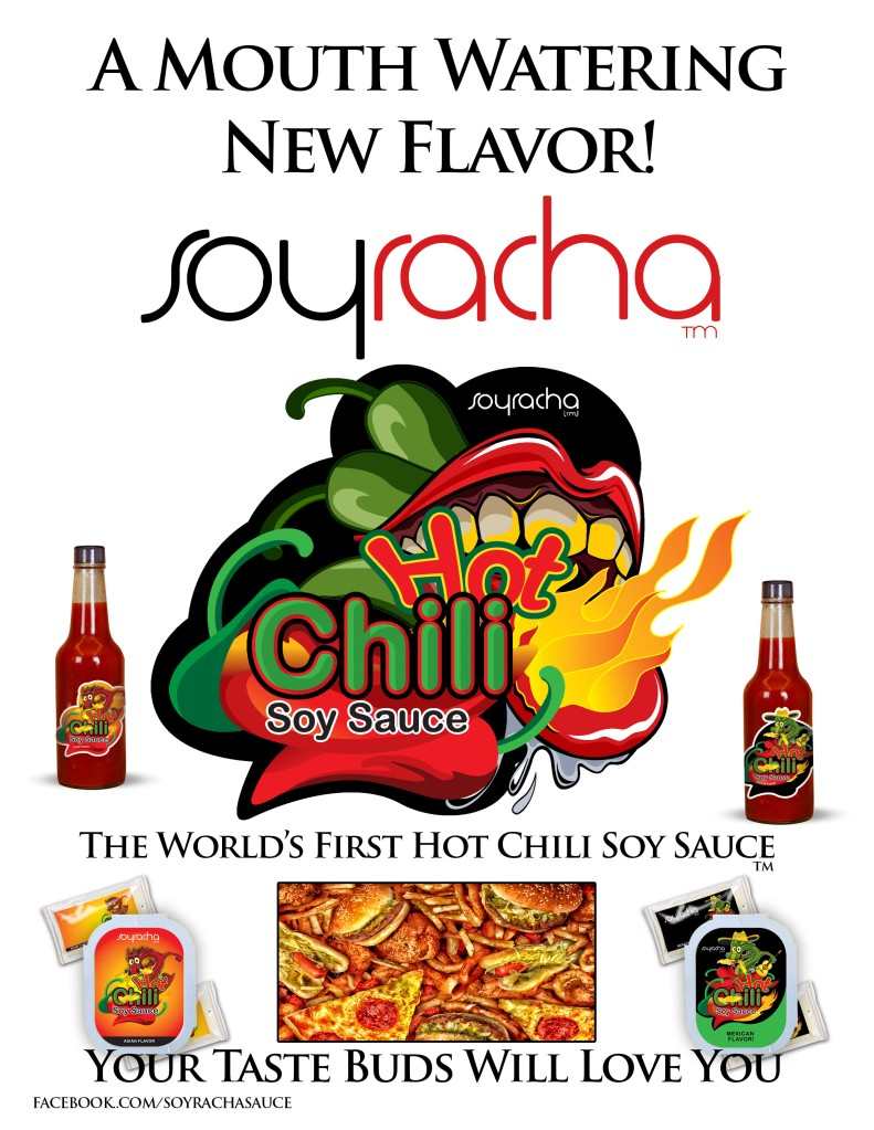 Soyracha! The World's First Hot Chili Soy Sauce
