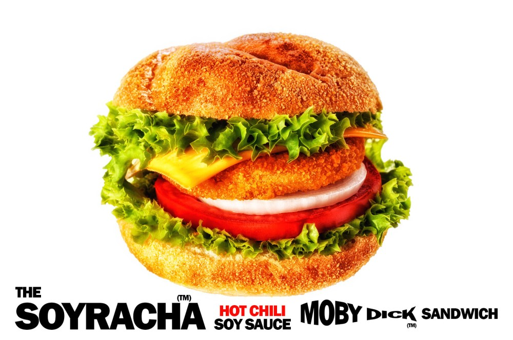 Soyracha Hot Chili Soy Sauce Moby Dick Sandwich