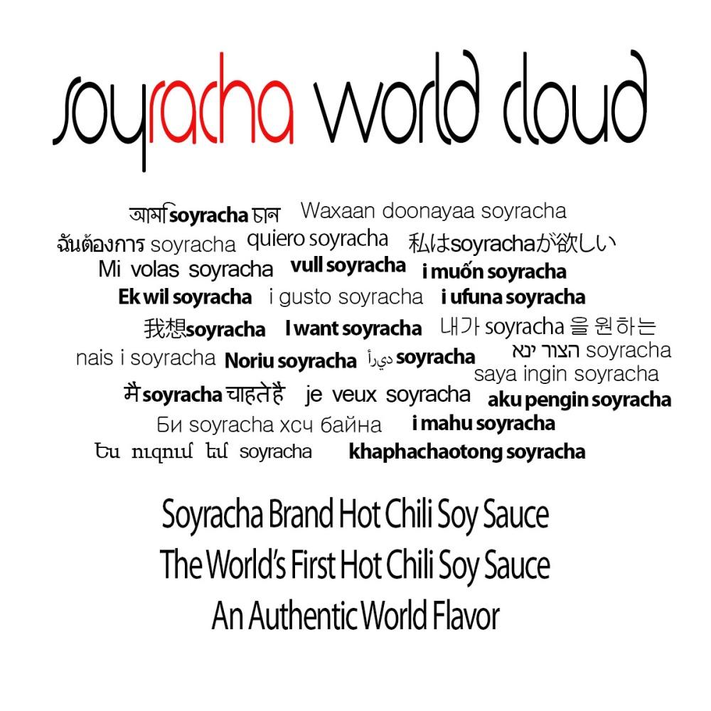 Soyracha World Cloud  - i want soyracha - i ufuna soyracha, i gusto soyracha, Noriu soyracha, je veux, soyracha, i manu soyracha, Mi volas soyracha - oohyay auntway oyrachasay — at Planet Soyracha