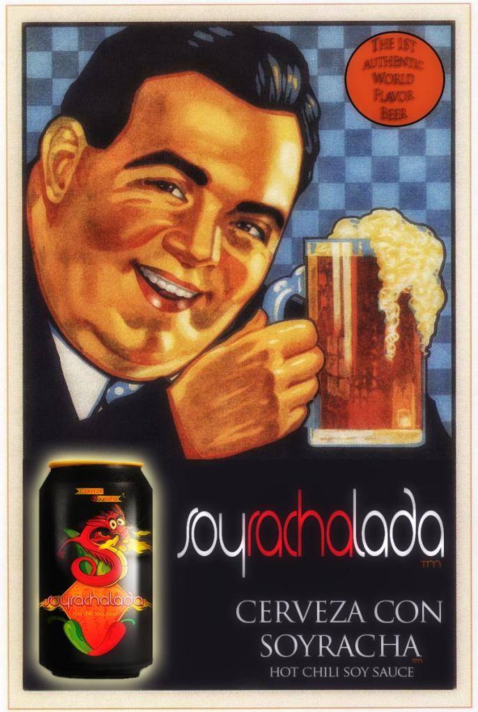 Soyrachalada - Cerveza y Soyracha Hot Chili Soy Sauce